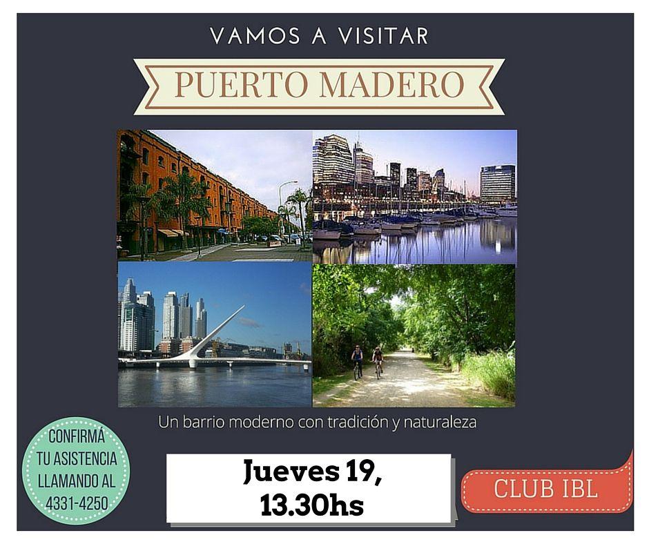 ¡Visitamos Puerto Madero!