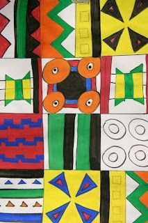 Splish Splash Splatter African Art Projects Elementary Art