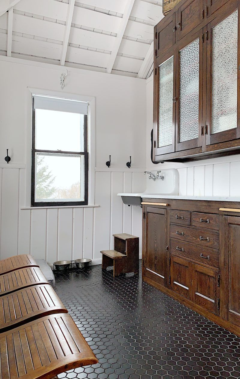 A Tour of the Victorian Farmhouse Bathroom interior