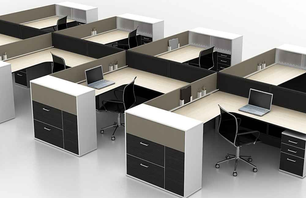 Exceptionnel Modular Office Cubicle Furniture Ideas
