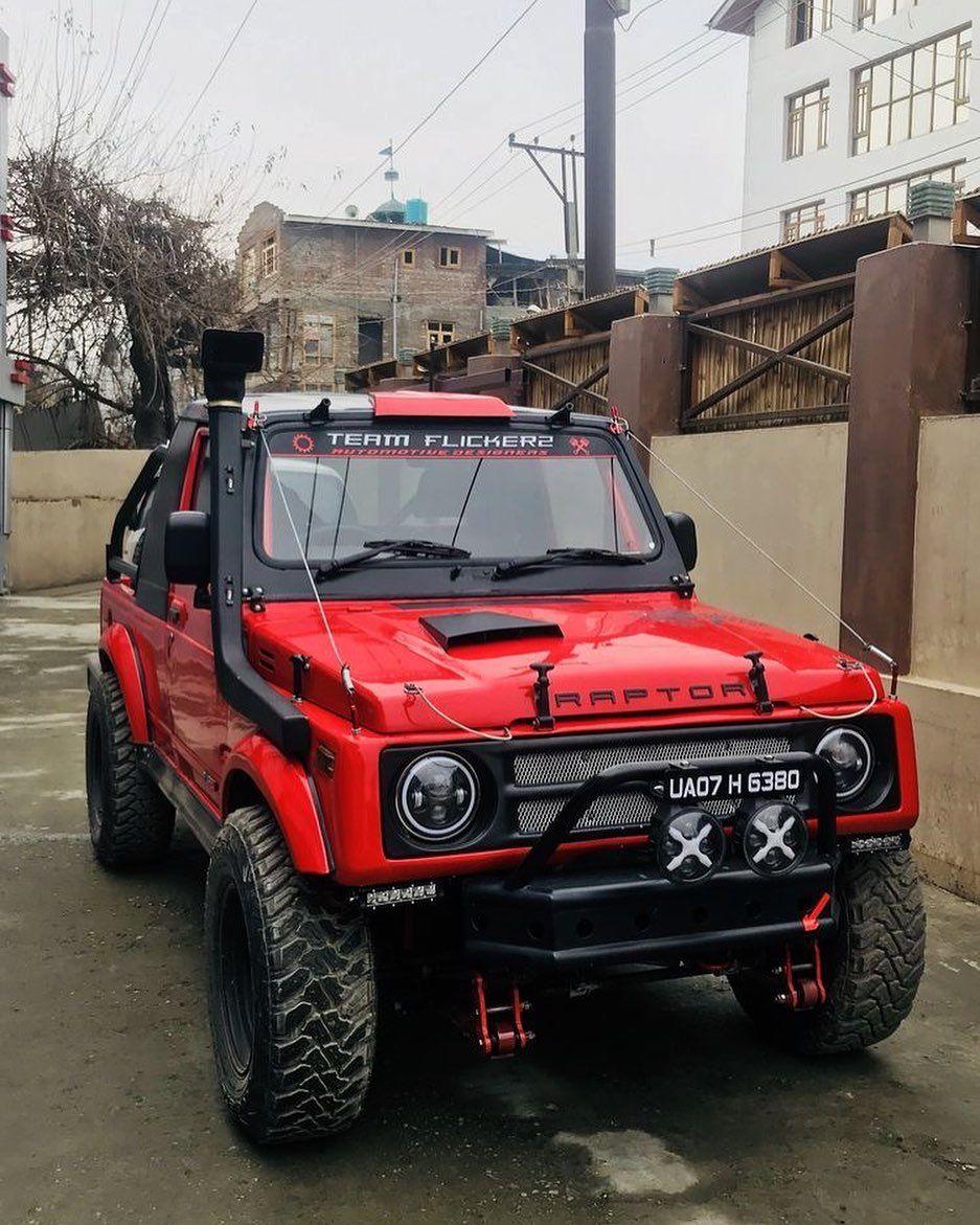 Mi Piace 974 Commenti 6 Suzuki Camp Life Suzukisamuraisj Su Instagram Red Raptor Konsep Mobil Mobil Keren Modifikasi Mobil