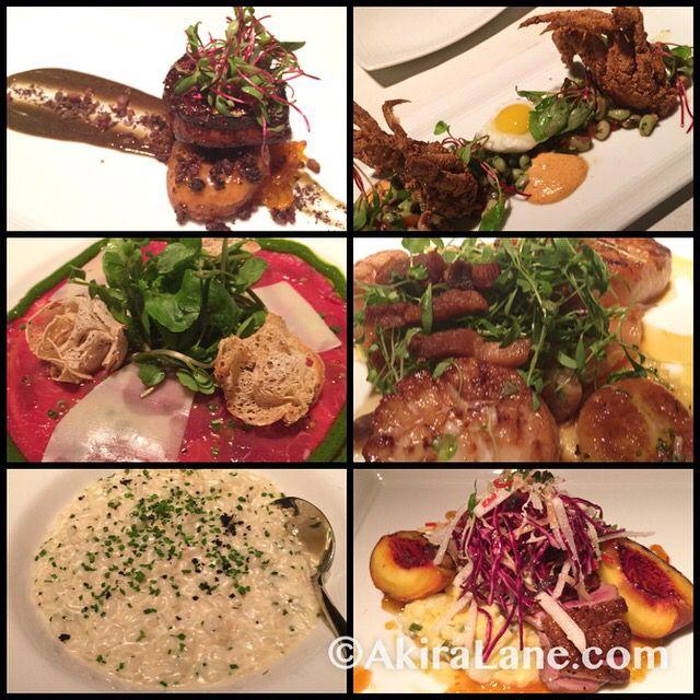 I was in #foodheaven last night! #foiegras #softshellcrab #duck #scallops #beefcarpaccio #trufflerisotto #decadence