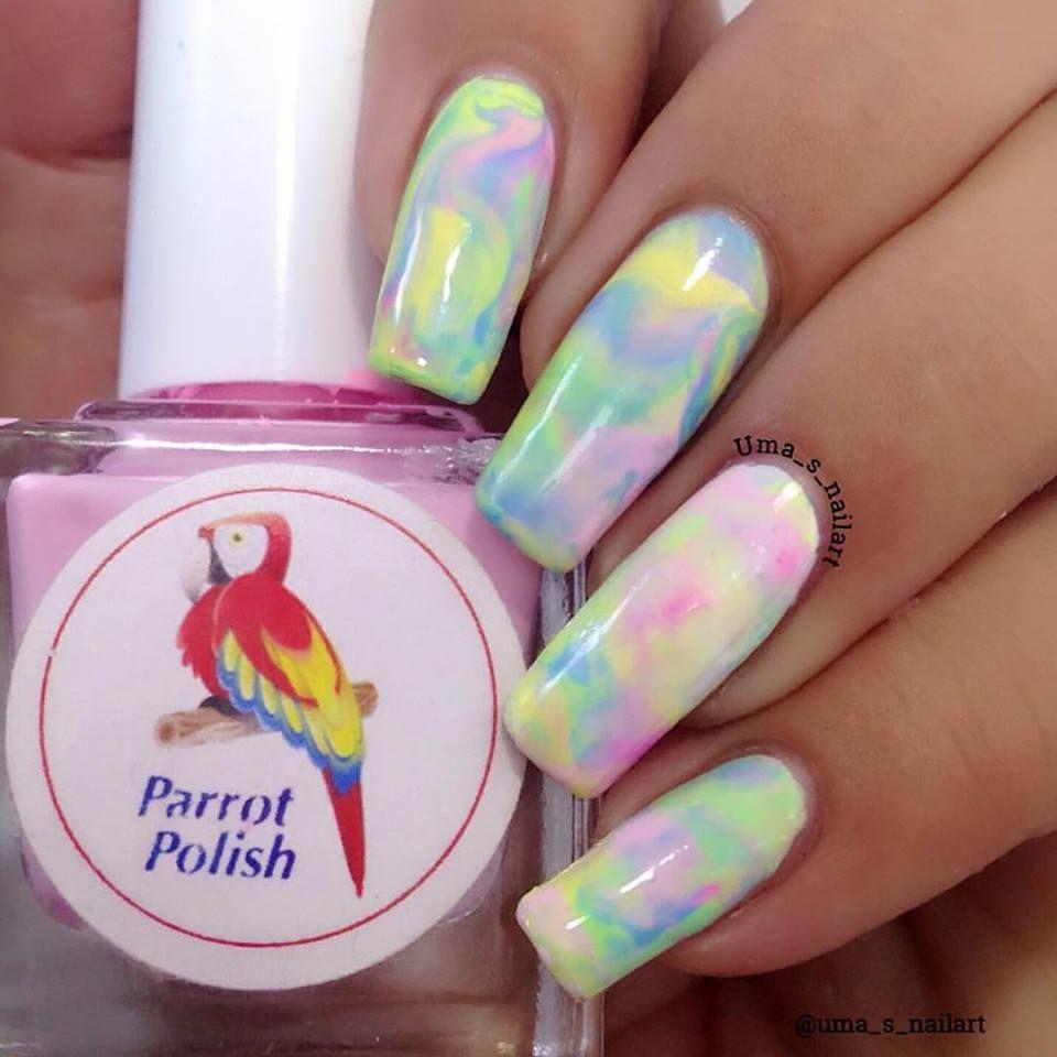55 Weird Dazzling Summer Nail Art Designs To Enhance the Scope of ...