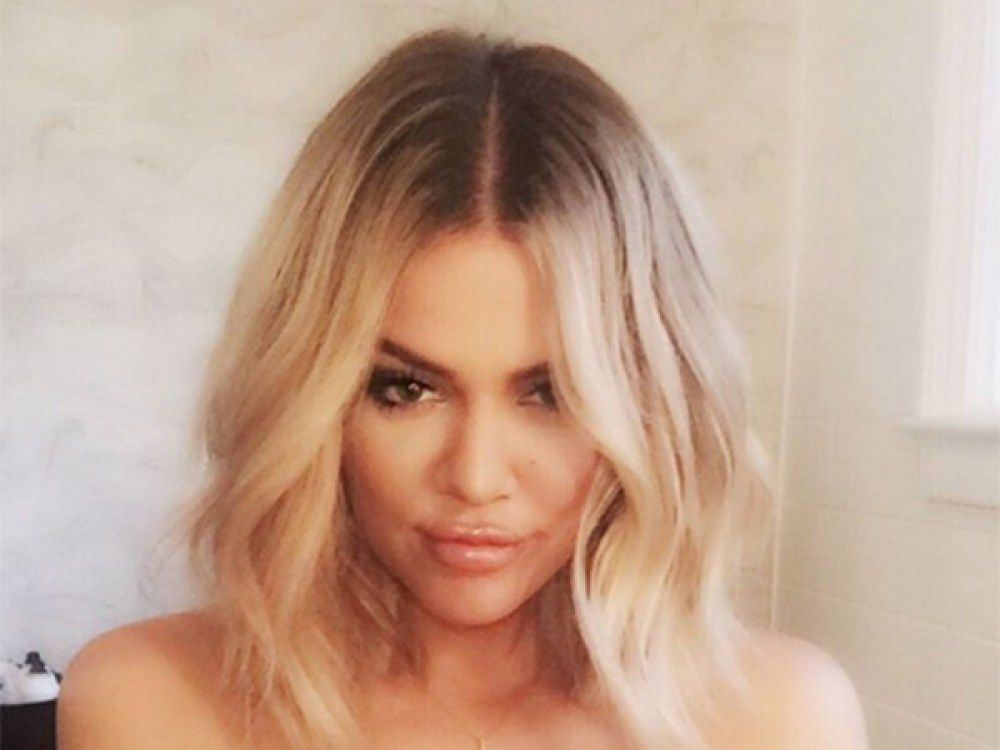 Khloe Kardashian Hair Style: Khloe Kardashian's Perfect Wavy Lob