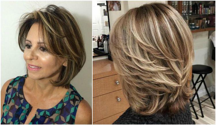 Modische Frisuren Fur Frauen Ab 50 Und Haarfarben Die Junger Machen Modische Frisuren Haarschnitt Lang Haarfarben