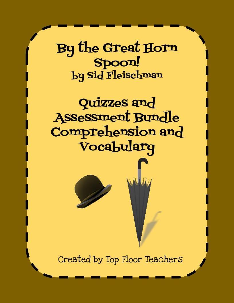 worksheet By The Great Horn Spoon Worksheets by the great horn spoon comprehension and vocabulary quiz bundle bundle