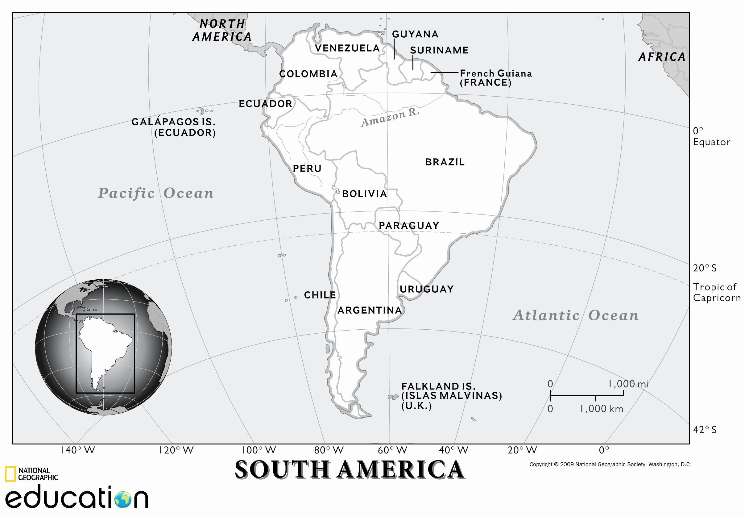 South America Map Coloring Page Inspirational Political North America Maps And A City S South America Map North America Map Physical Geography