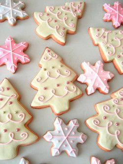 cookie decorating ideas pastel christmas cookies no recipe