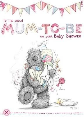 On Your Baby Shower Adorable Me to You Tatty Teddy Bear Card Mum To Be