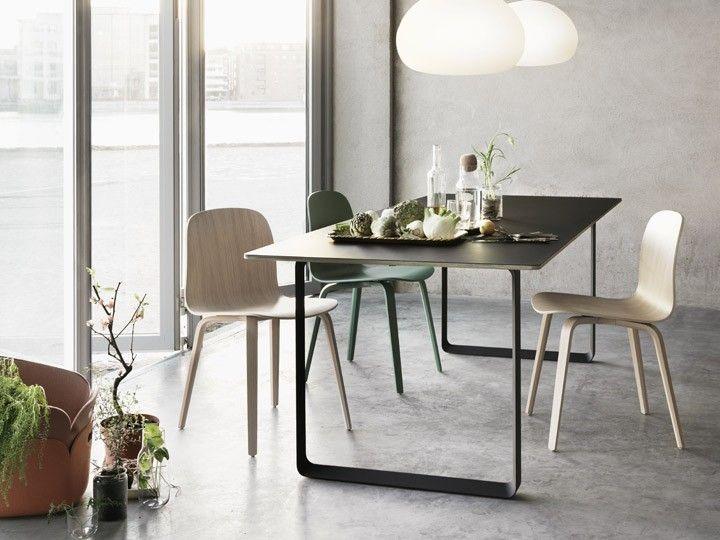 Visu Wood Base Stuhl Stapelstuhl Esszimmer Wartezimmer Muuto Daswohnkonzept Com Esszimmerdesign Tisch Und Stuhle Wohnen