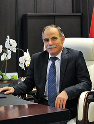 Ondokuz Mayis Universitesi Rektoru Prof Dr Huseyin Akan Haber Omuz