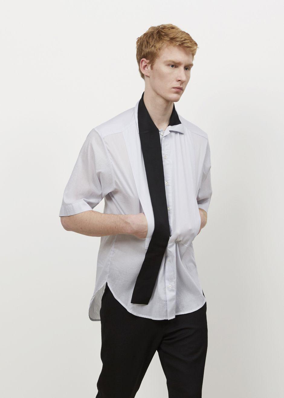 Yang Li Big Shirt (Blue/White)