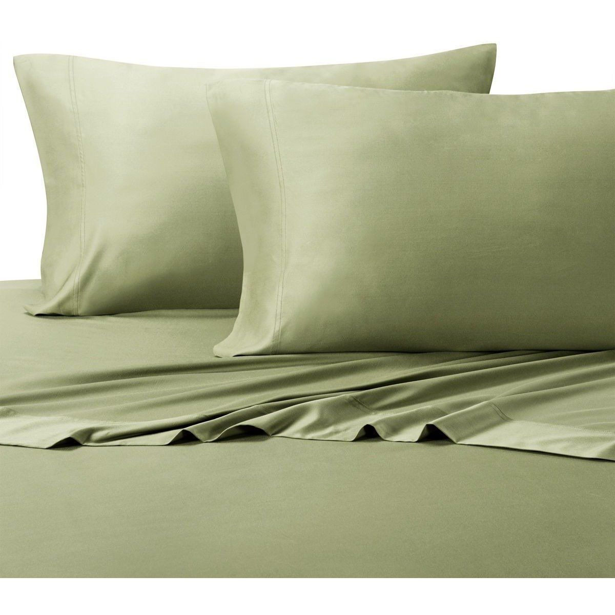 Hybrid Eco Friendly Bamboo Sheets Bed Linens Luxury Striped Bed