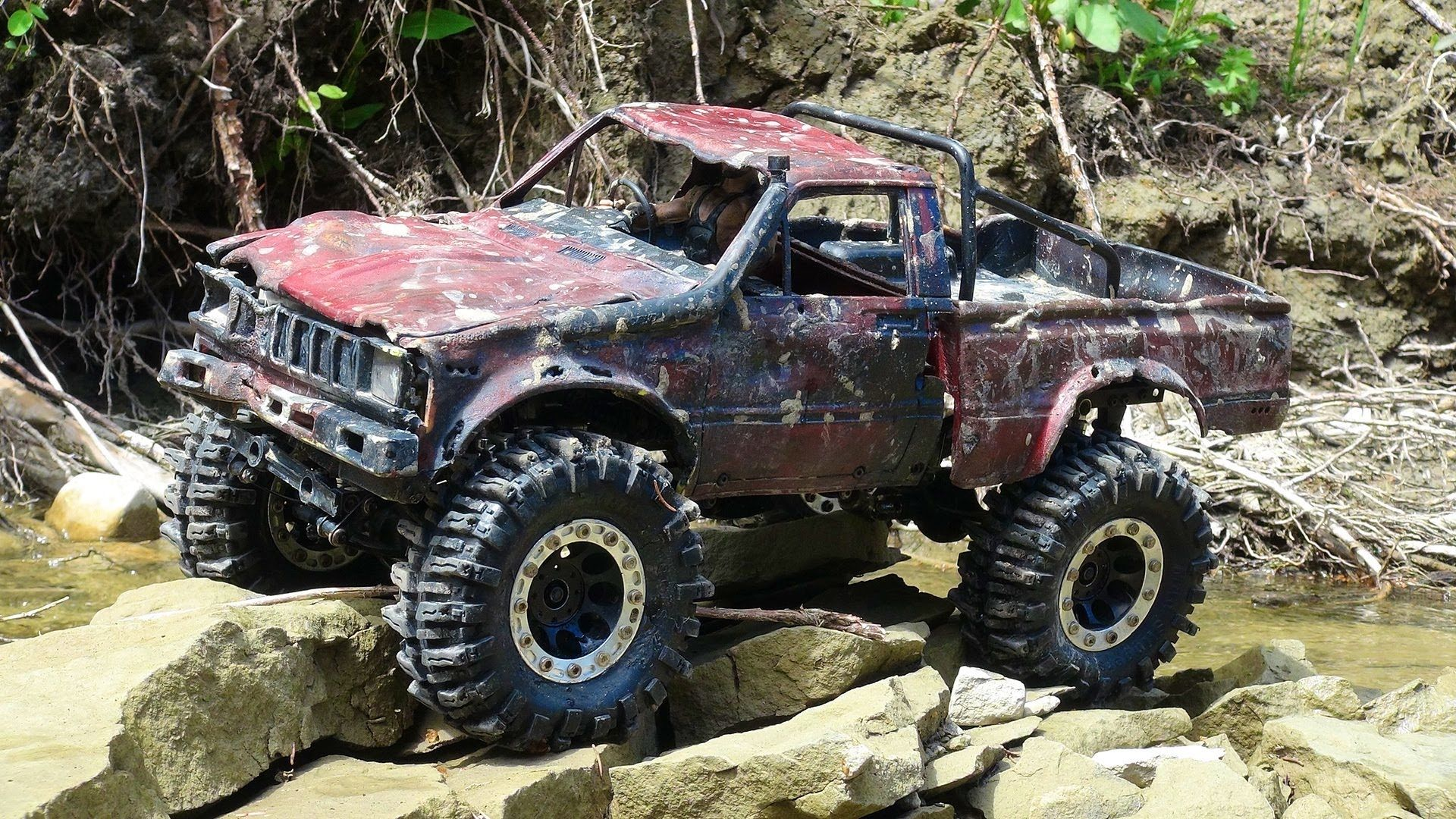 Rc adventures death of the top gear uk toyota hilux where trail truc