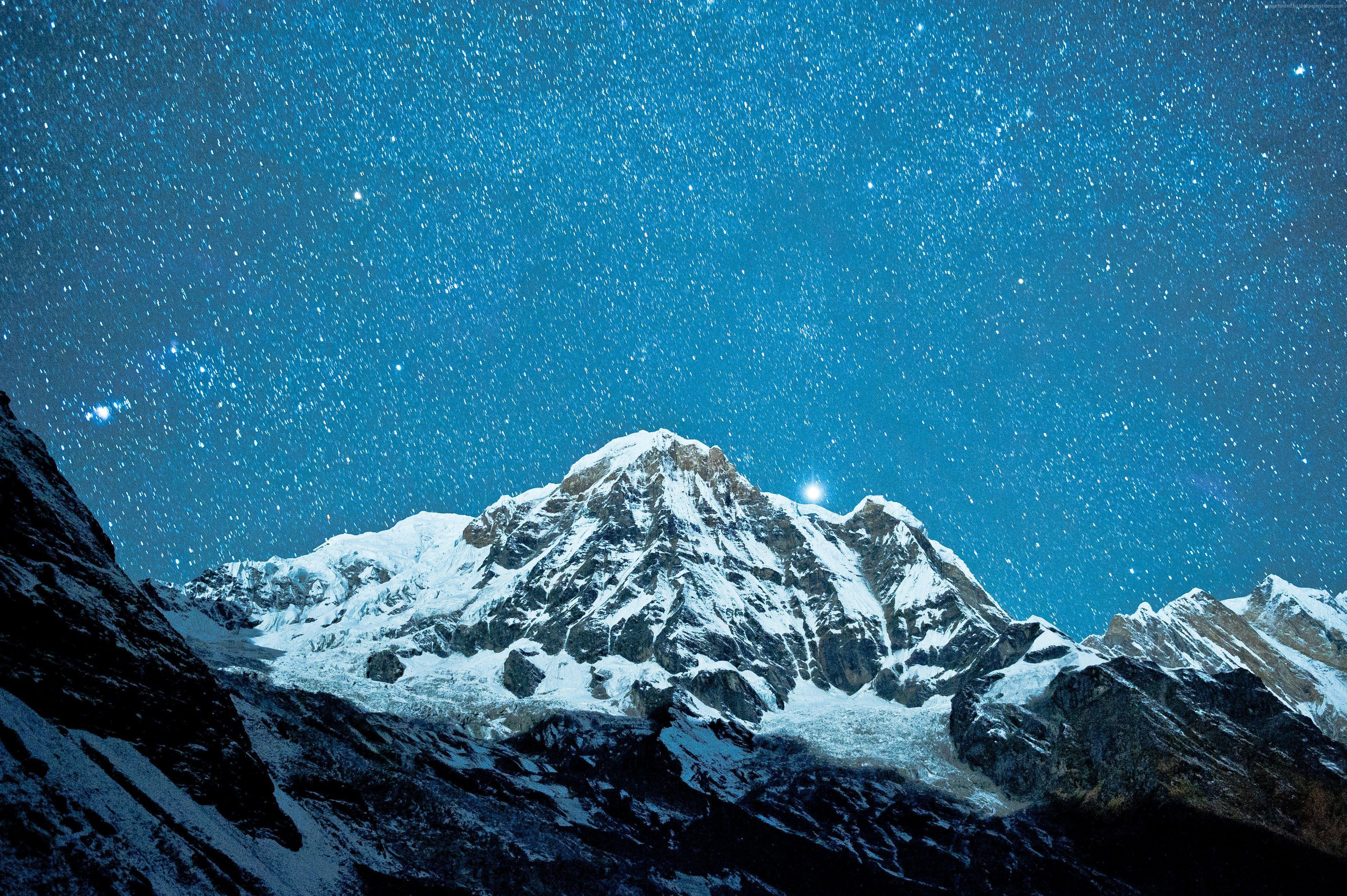 Himalayas Wallpaper Os Himalayas Nepal Mountains Sky Clouds High Def Wallpapers Hd Wallpaper 4k Mountain Images