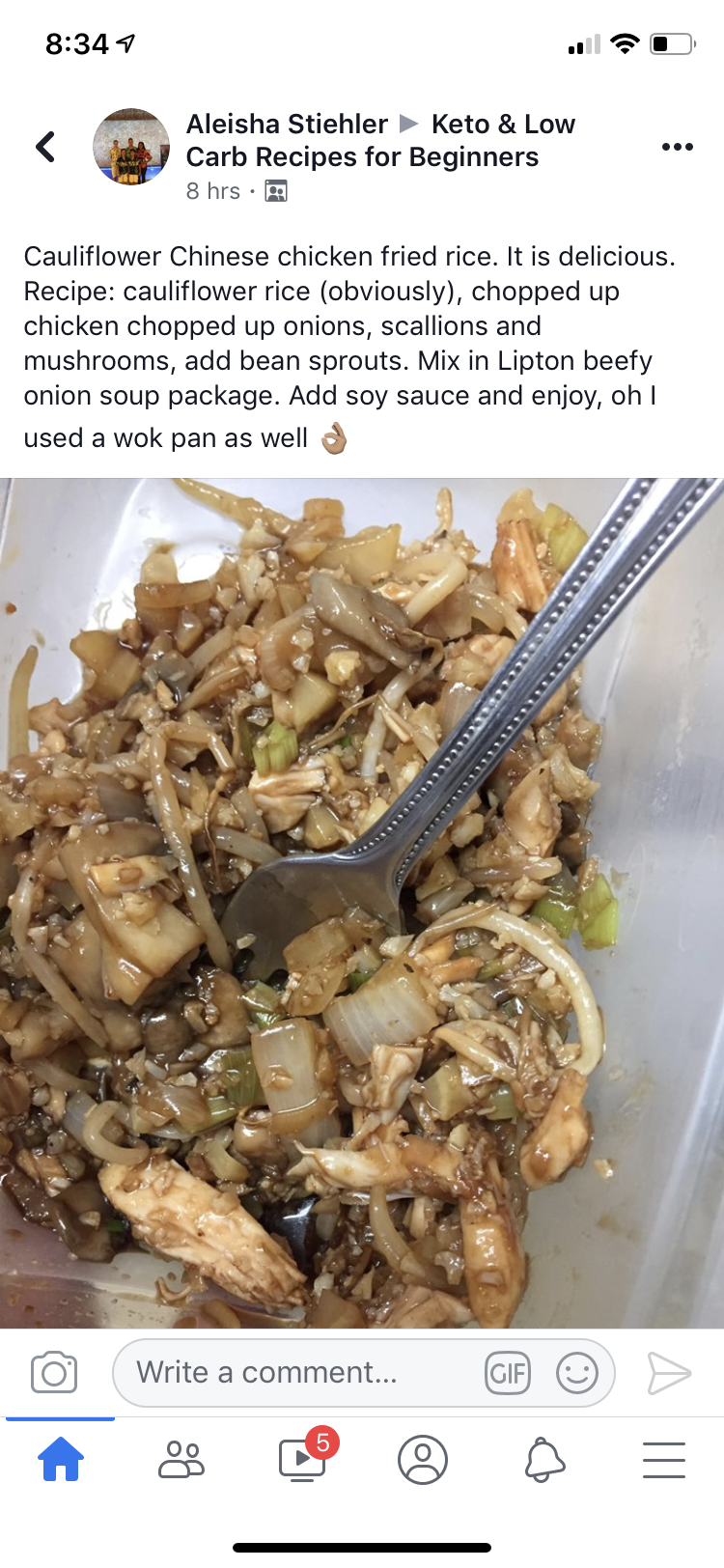 Pin By Jess Harman On Recipes Recipes Low Carb Recipes Chicken Fried Rice