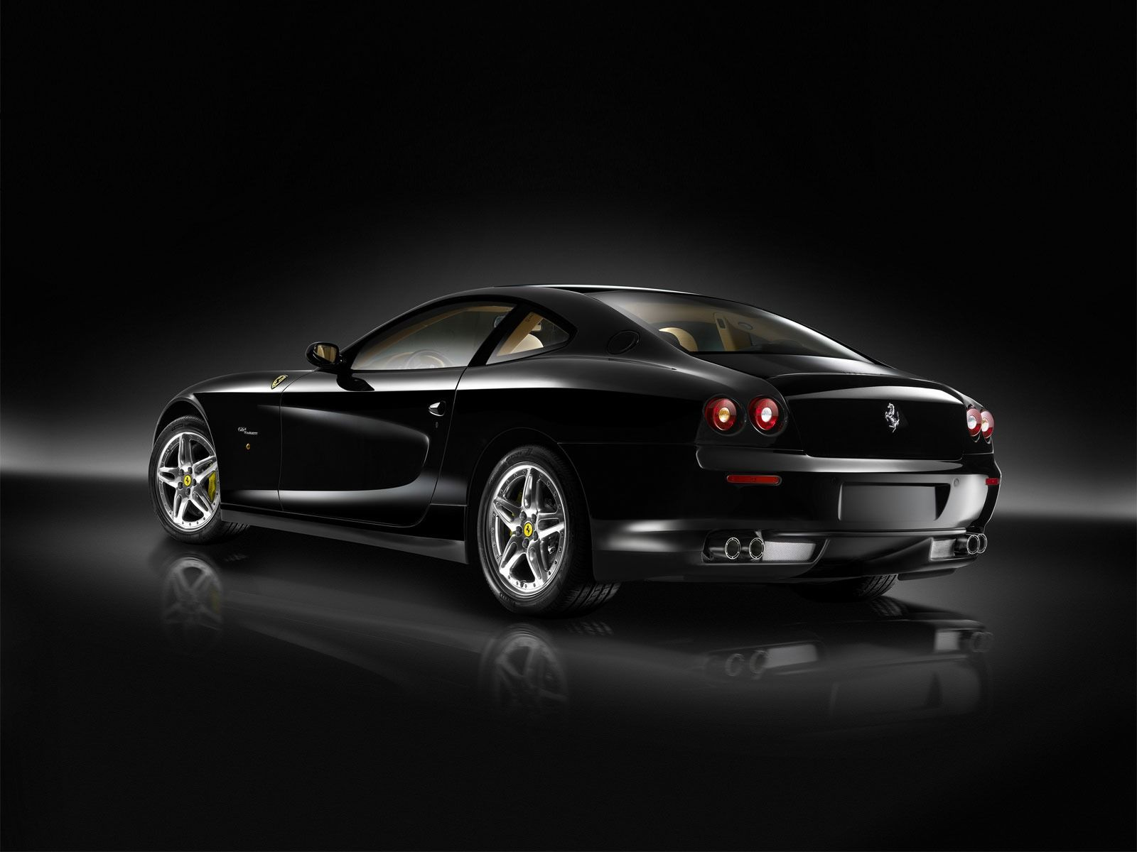 Attractive Ferrari Scaglietti Black Wallpaper Ferrari Cars Wallpapers In