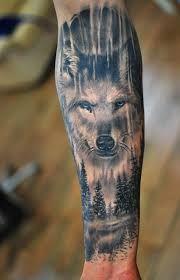 Resultado De Imagem Para Native American Tattoo Wolf Tattoo Armel Wolf Tattoos Tattoos Manner