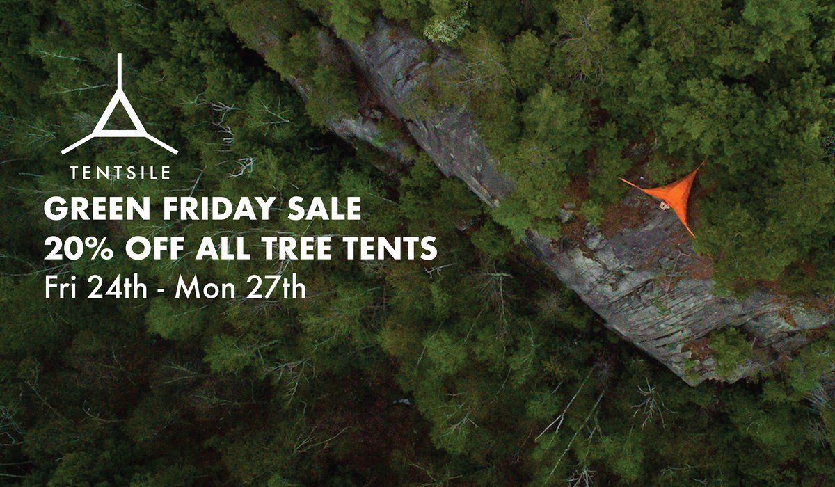 Tentsile tree tents - incredible portable treehouses combining the versatility of hammocks u0026 the comfort u0026 security of tents. & Sale now on! Hurry ends Monday. | Black Friday | Pinterest ...