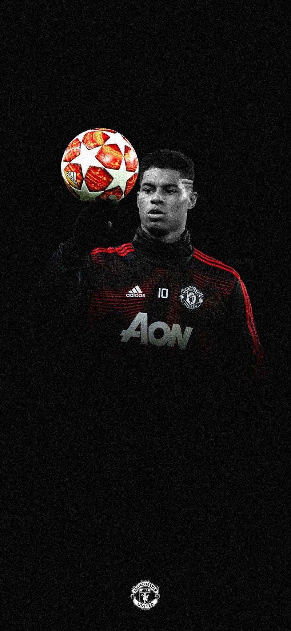 Rashford Man Utd Pemain Sepak Bola Gambar Sepak Bola Sepak Bola