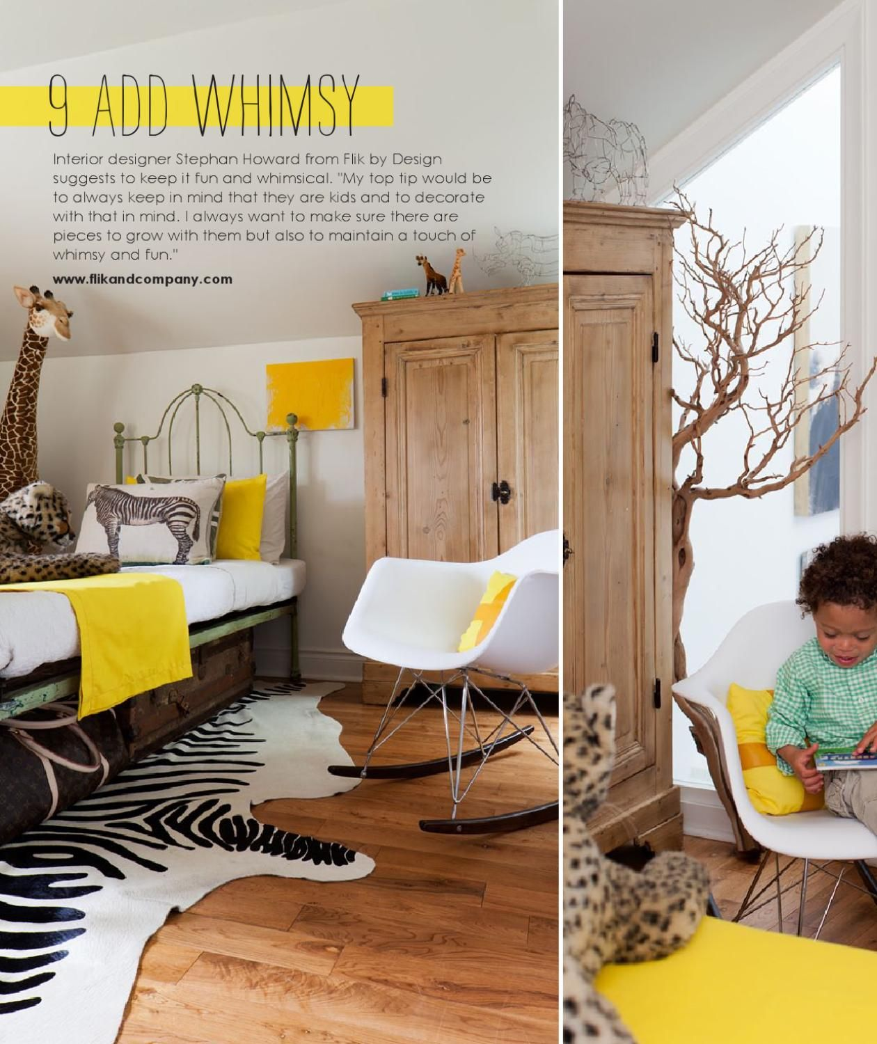 Adore Magazine.... love the yellow!