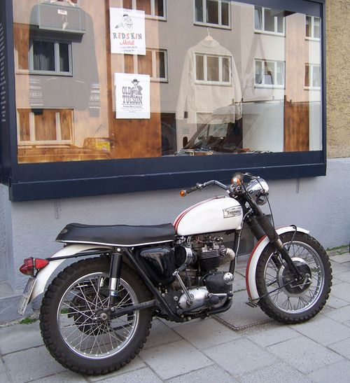 Triumph.  To replace my '77 Honda CB.  I love the flat seat and pronounced tank but I would like more original, clean chrome.