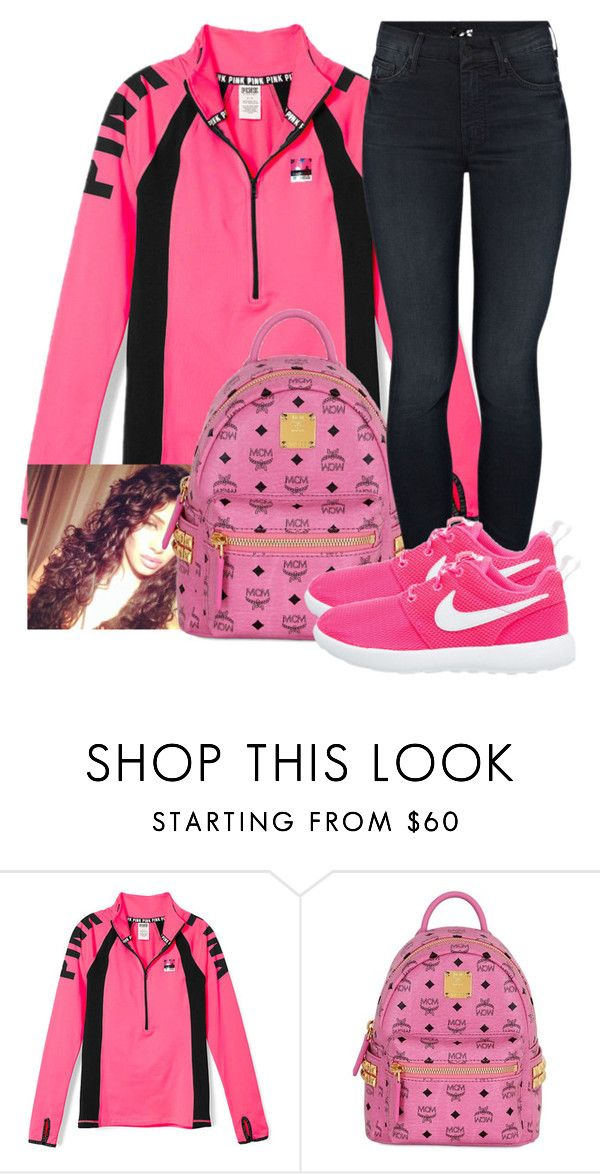 """""""Untitled #517"""" by chynaloggins ❤ liked on Polyvore featuring MCM, Mother and NIKE"""