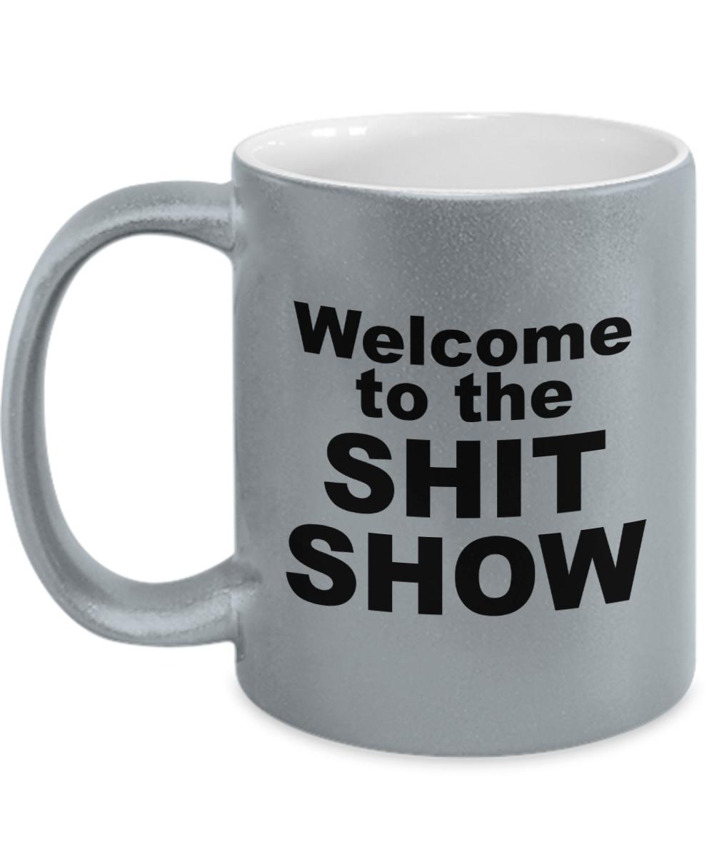Giant Funny 22oz Coffee Mug Sht Happens