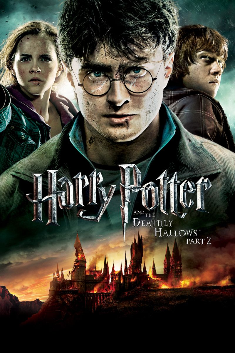8 Harry Potter And The Deathly Hallows Part 2 2011 United Kingdom United States Harry Potter Filme Harry Potter Filmes