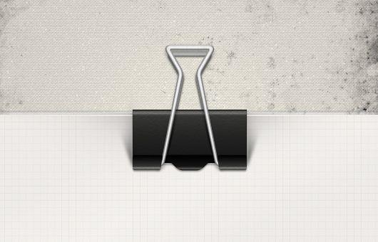 2 Paper Clips Psd Design Goodies Psd Web Design Trends
