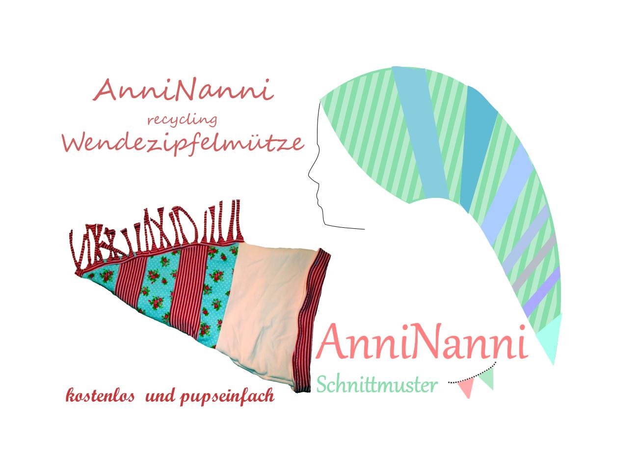 Mama Nähblog: Freebook AnniNanni Zipfelmütze   nähen   Pinterest ...