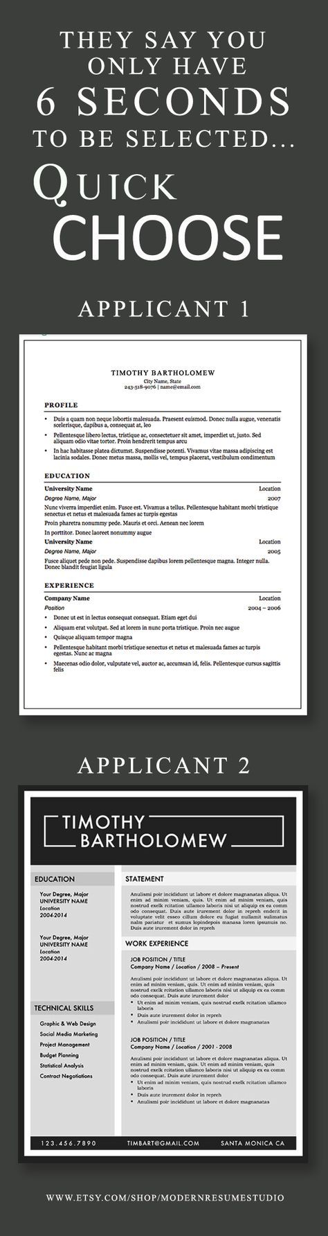 Modern Resume Format%0A Research tells us that recruiters review resumes in   seconds  Make them  count with a