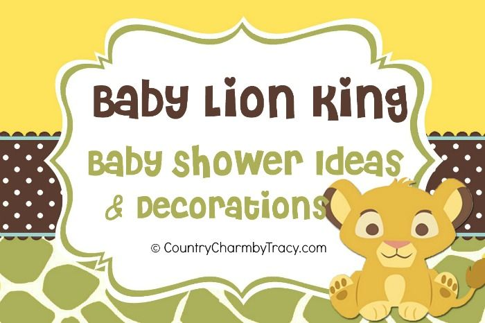 48 best images about lion king baby shower ideas on pinterest, Baby shower invitations