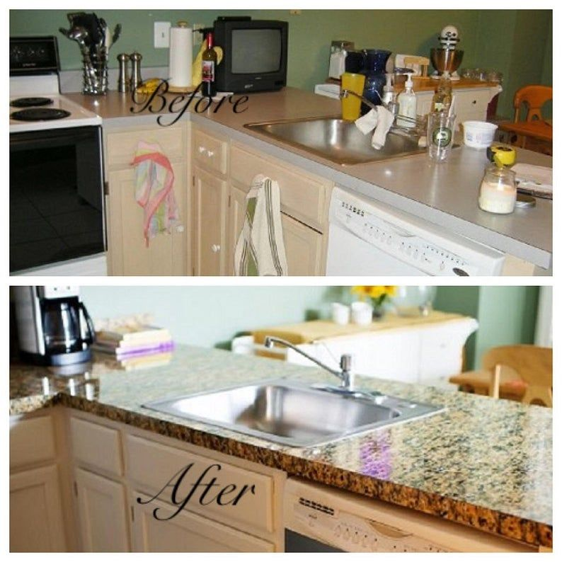 Waterproof Durable Decorative Counter Top Update Makeover