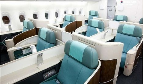Photo Gallery Inside Korean Airs New Airbus A380 Superjumbo