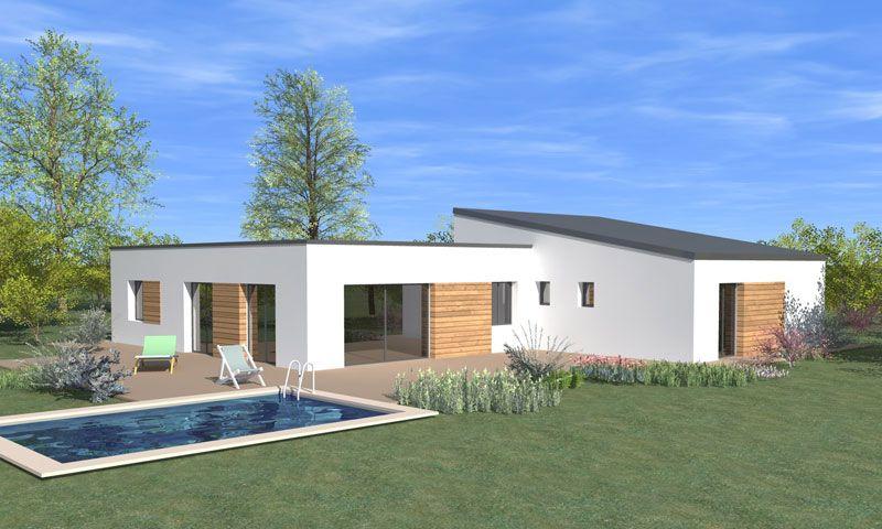 Populaire maison plain pied moderne | plan maison | Pinterest YC77