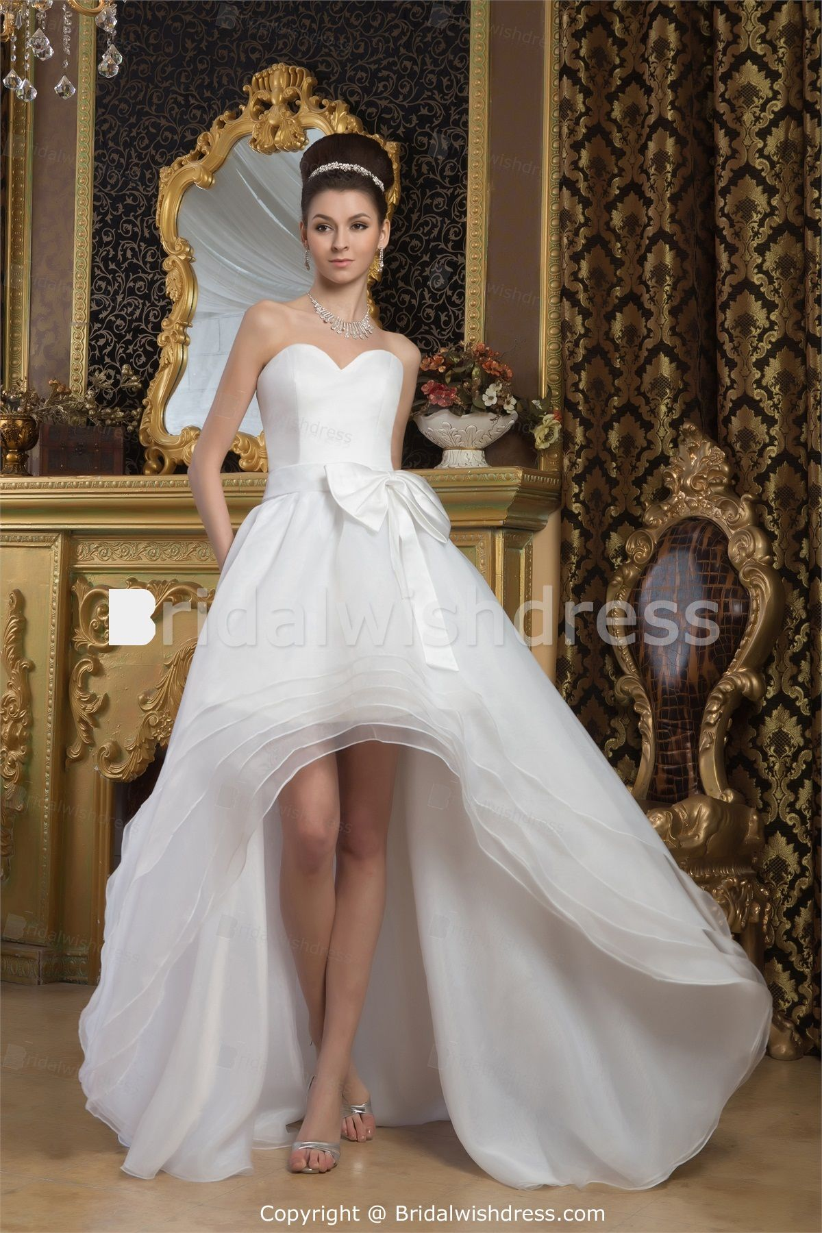 The most beautiful wedding dress