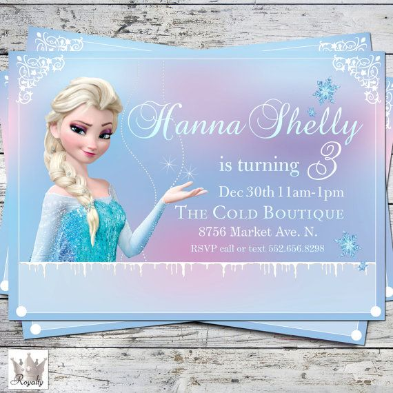 free frozen invitation | frozen party invitations, frozen party, Party invitations