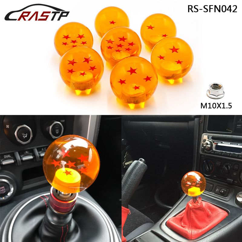 dragon ball gear shift knob high quality customized car styling auto racing m10x1 5 hread for. Black Bedroom Furniture Sets. Home Design Ideas