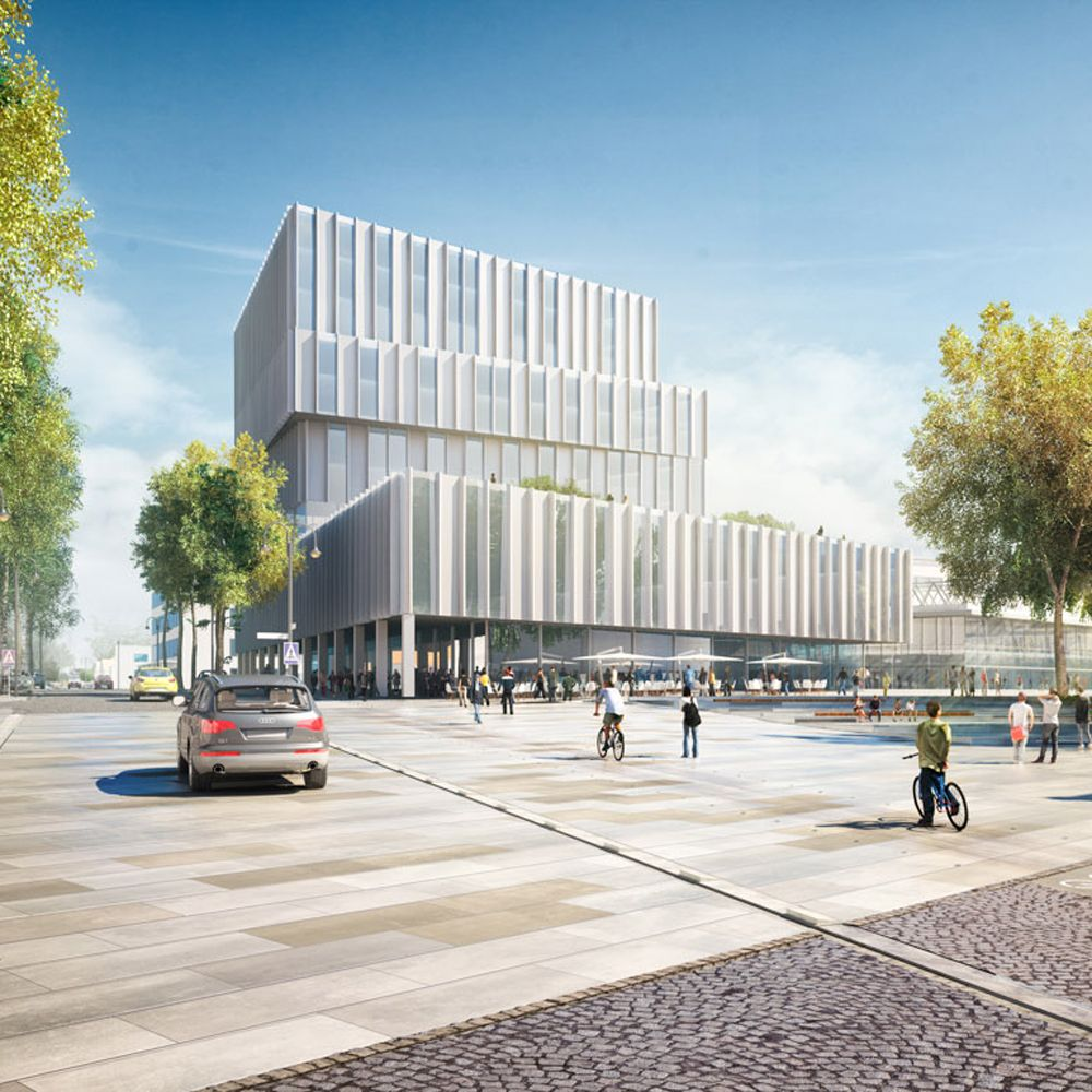 Bakpak Architects, urban development in Germering (Germany) - Arquitectura Viva · Architecture magazines