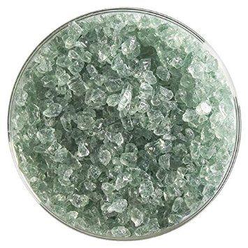 4oz 90COE Deco Gray Opalescent Medium Frit Made From Bullseye Glass