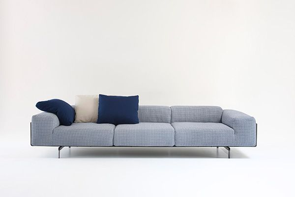 Sofa Sleeper Largo Sofa by Piero Lissoni for Kartell