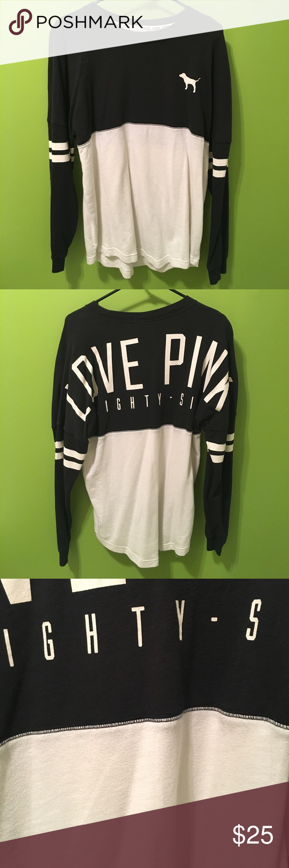 VS Pink Jersey Sweatshirt
