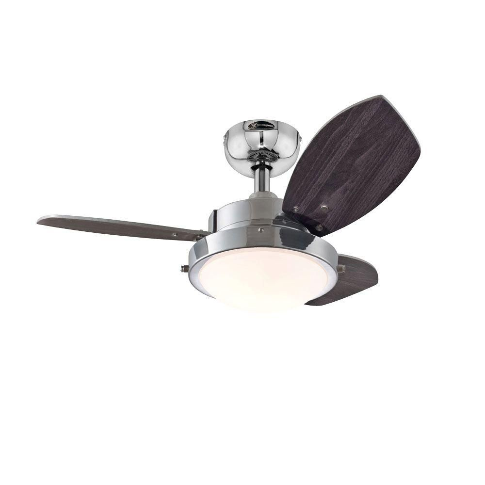 Westinghouse Wengue 30 In Indoor White Finish Ceiling Fan 7247200