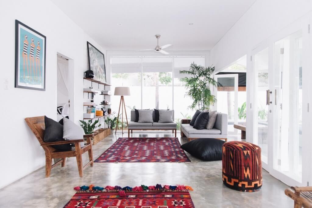 Fella Villas Une Maison En Indonésie à La Déco Boho