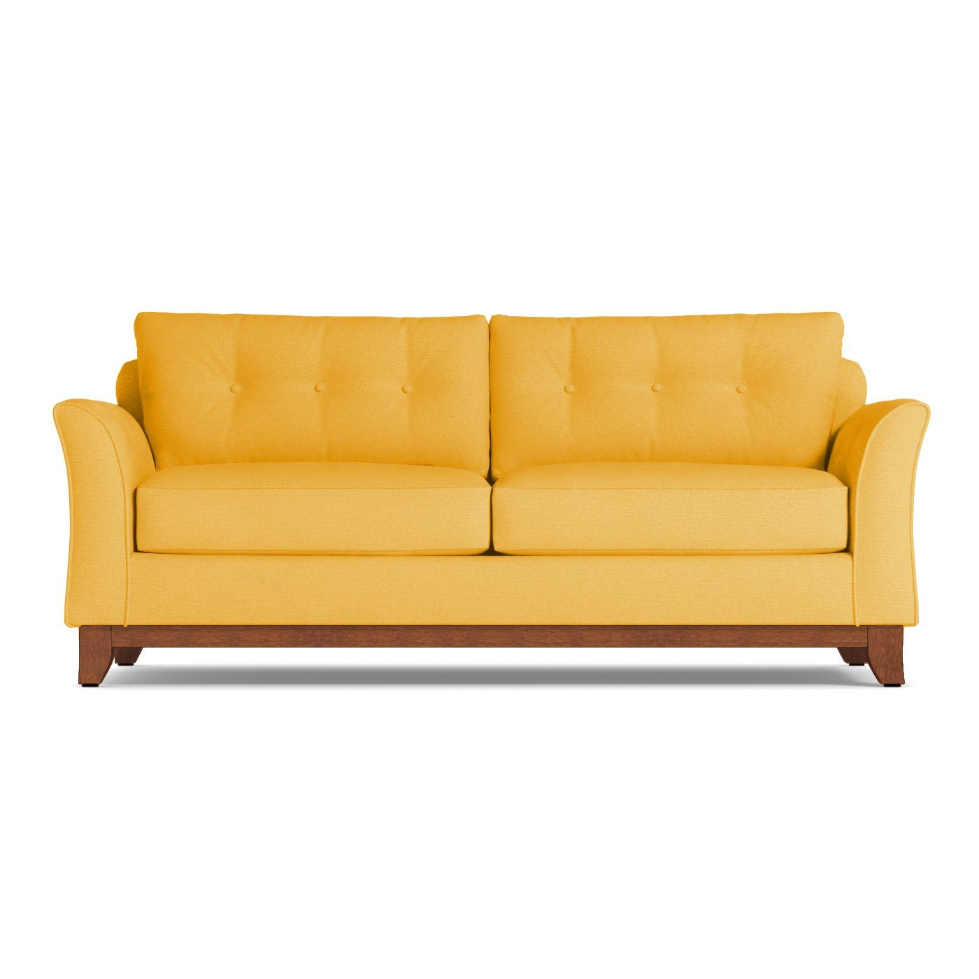 Marco Queen Size Sleeper Sofa Leg Finish Pecan