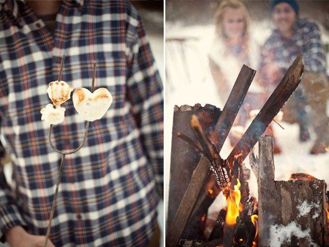 Зимняя лав-стори фото 5   Зимние свадебные фото ...