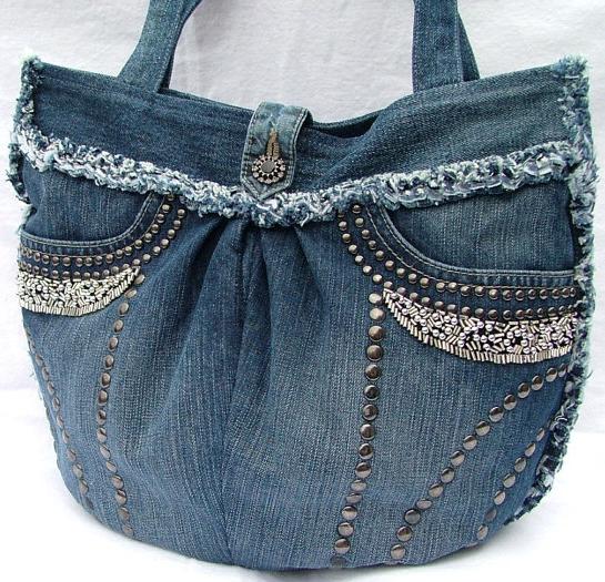 Make Your Own Denim Purse Denim Purse Jean Purses And Bag