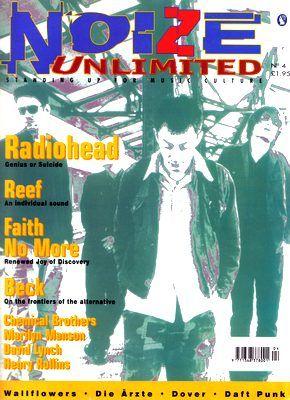 Radiohead - Magazine Covers - 1997 - Noize