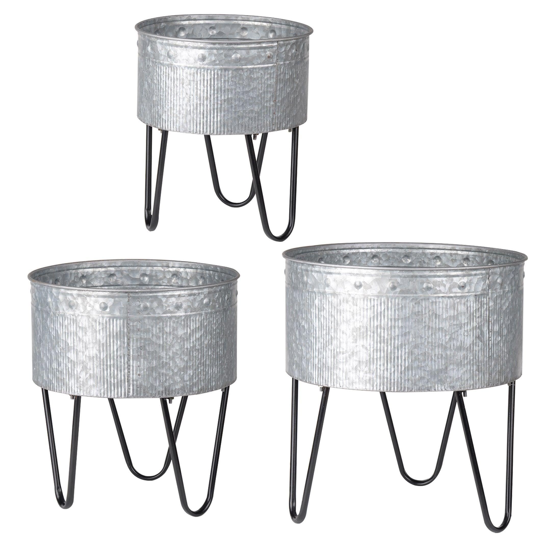 better galvanized walmart tub com and metal square ip steel homes gardens